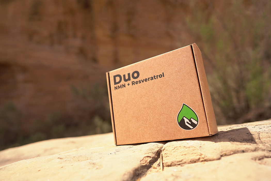 Duo, our NMN + Resveratrol Supplement Protocol, has arrived!  feature image